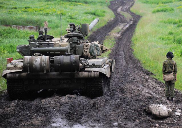 كتيبة مشاة فرونيج-شوميلينسكايا المتمركزة في أوسيتيا الشمالية