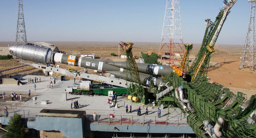 إطلاق صاروخ سويوز 2.1 من منصة فريغات وكذلك 6 أقمار صناعية غلوباستار-2 من مركز الفضائي بايكونور.