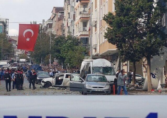إنفجار في اسطنبول