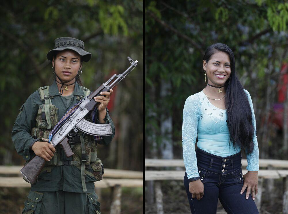 مجندات كولومبيا