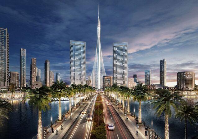 البرج في دبي (متوقع أن يكون الأعلى في العالم)