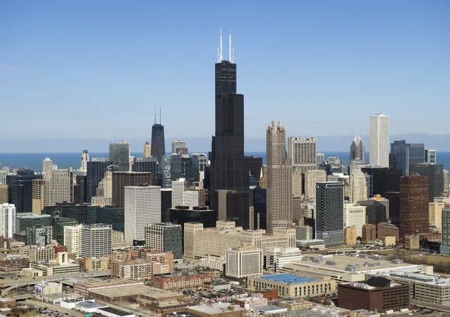 برج ويليس (Willis Tower)  مدينة شيكاغو