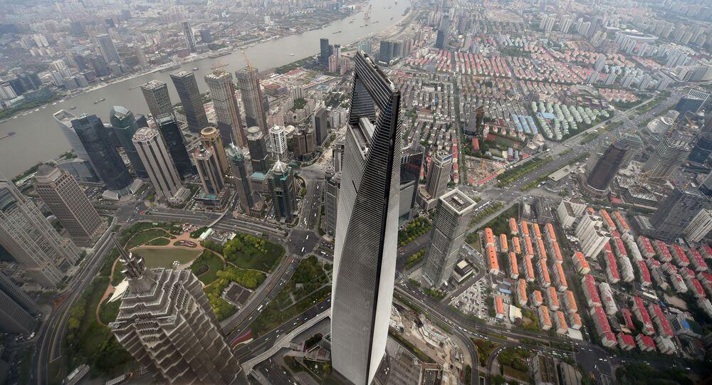 المركز المالي العالمي في شنغهاي