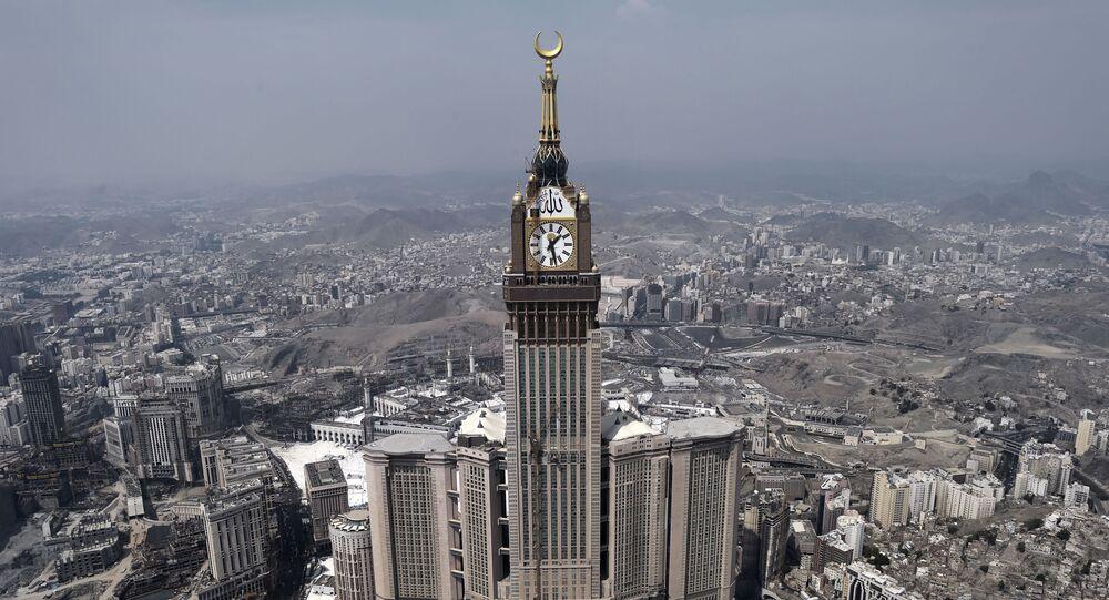 أبراج البيت في مدينة مكة المكرّمة