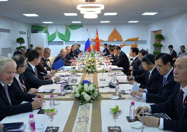 اجتماع رؤساء قمة بريكس في الهند