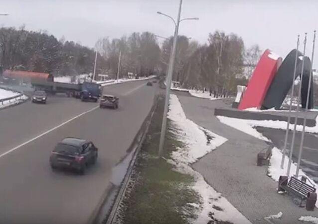 حادث طريق