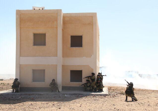 تدريبات مكافحة الإرهاب المصرية الروسية حماة الصداقة 2016