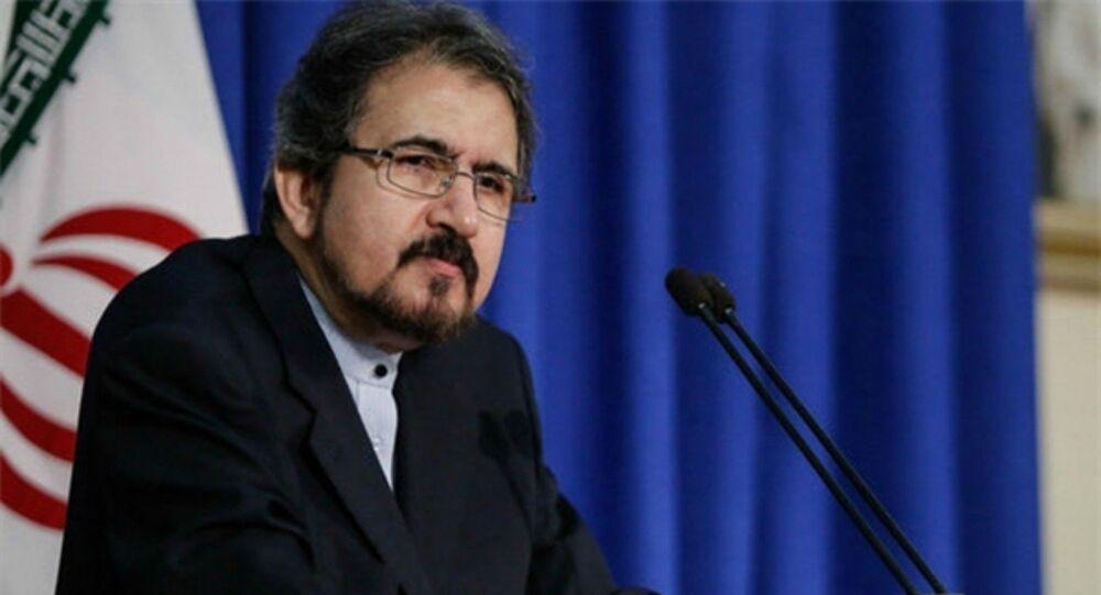 المتحدث باسم وزارة الخارجية الإيرانية، بهرام قاسمي