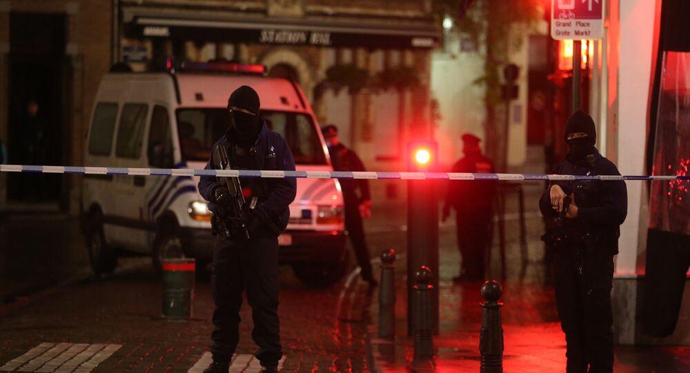 الشرطة البلجيكية