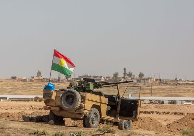 قوات البيشمركة أثناء عملية الموصل