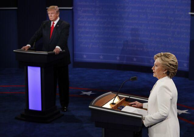 مناظرة بين المرشحين لانتخابات الرئاسة الأمريكية