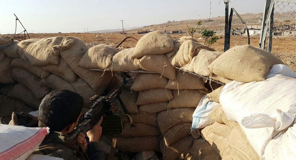 قوات الجيش السوري في جنوب حلب، سوريا