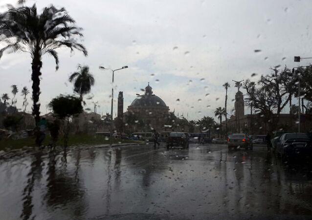 أمطار غزيرة في مصر (أرشيفية)