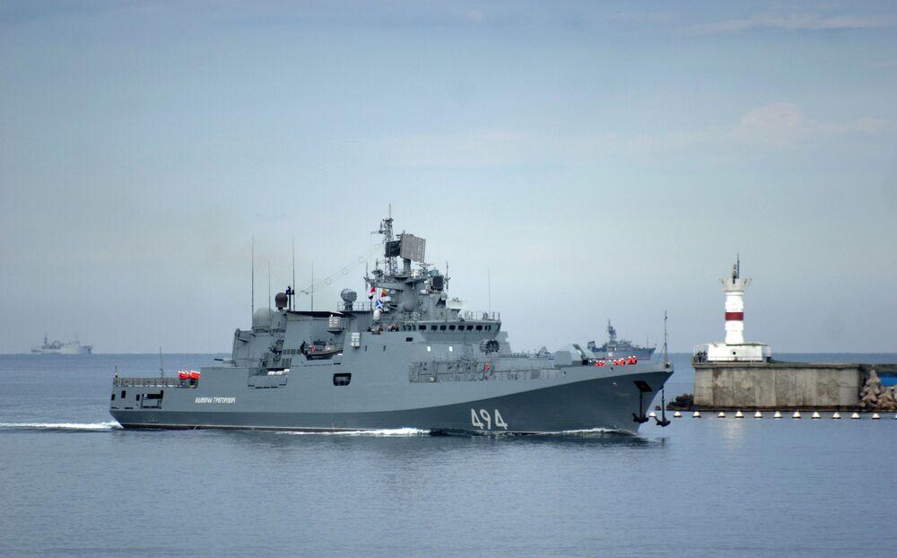 سفينة الأدميرال غريغوروفيتش التابعة لأسطول البحر الأسود