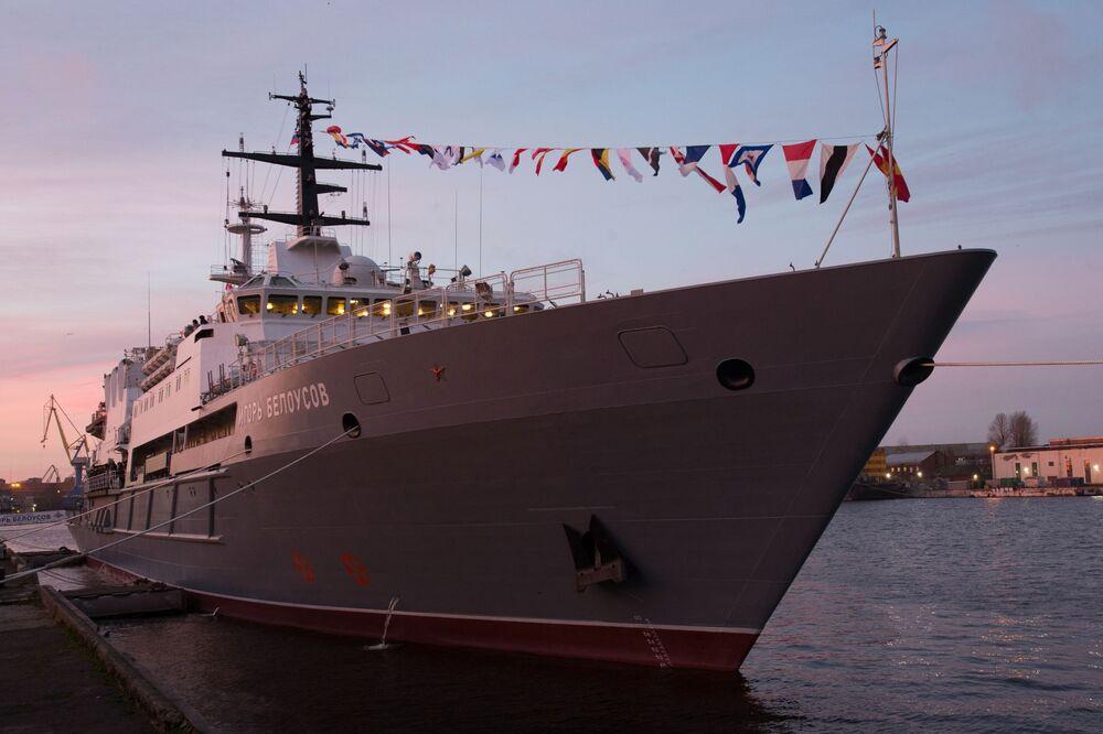 سفينة الإنقاذ إيغور بيلاوسوف في سانت بطرسبورغ