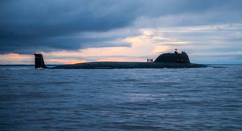 الغواصة النووية K-560 سيفيرودفينسك