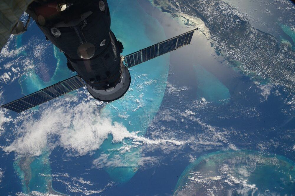 صورة لجزر البحر الكاريبي من الفضاء