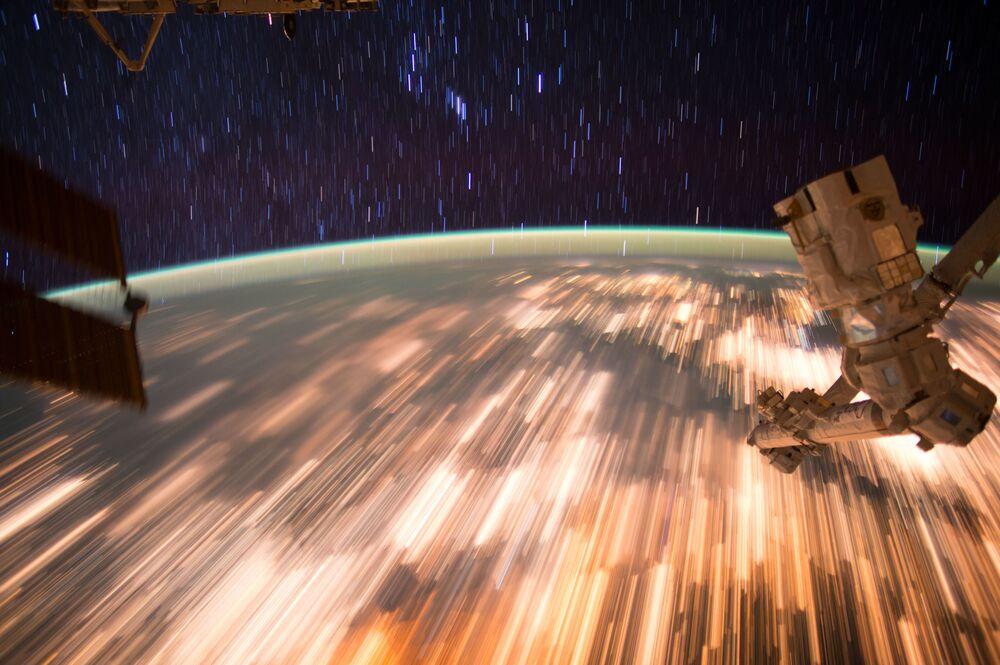 صورة للأرض من محطة الفضاء الدولية