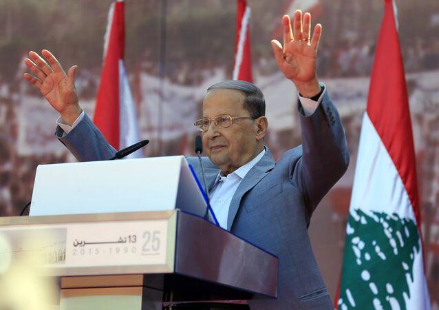 الرئيس اللبناني - ميشال عون