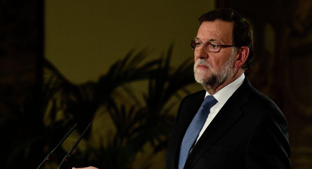 رئيس الحكومة الإسبانية ماريانو راخوي