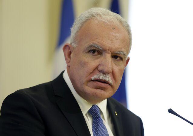رئيس الوزراء الفلسطيني رياض المالكي