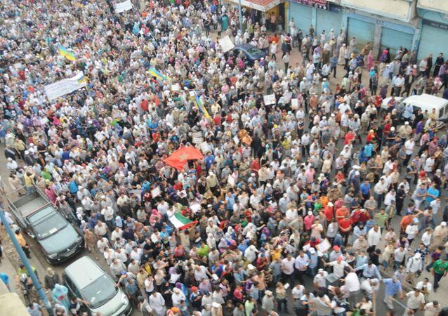 مظاهرات المغرب (صورة أرشيفية)