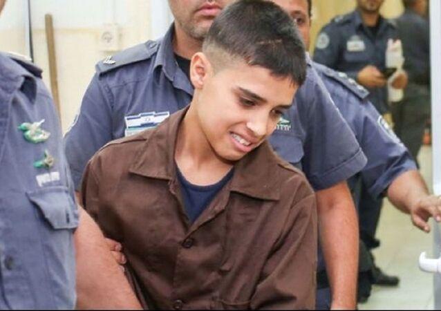 الطفل الفلسطيني أحمد مناصرة