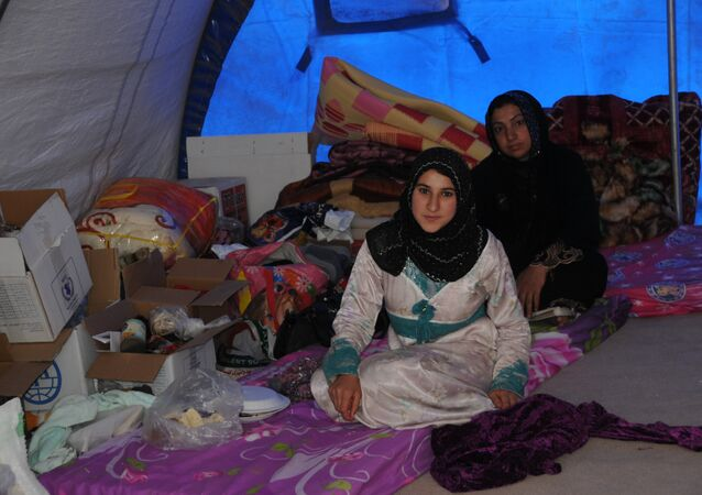 نساء الموصل الهاربات من داعش - حوري جليل