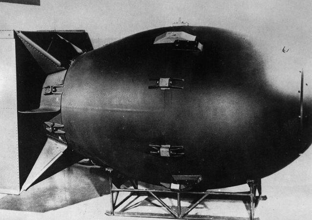 قنبلة ذرية أمريكية