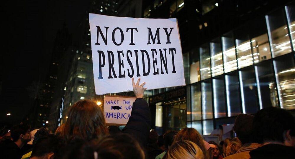 تظاهرات ضد ترامب