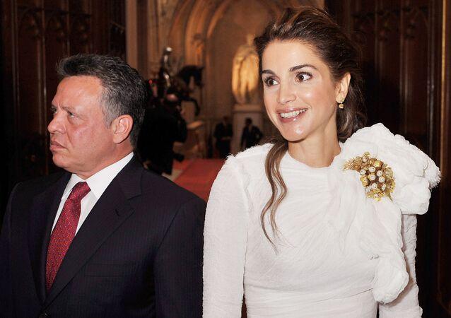 الملكة رانيا، زوجة الملك عبدالله الثاني، 2012
