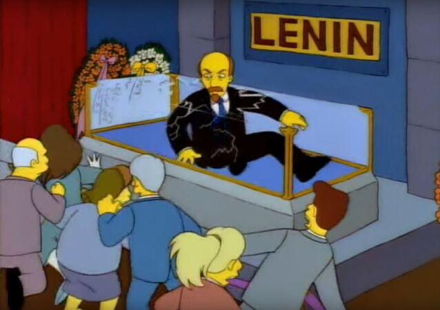 لينين يعود للحياة