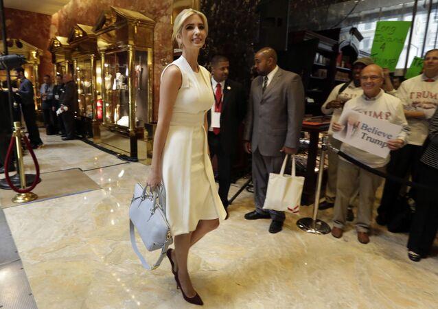 إيفانكا ترامب تصل برج ترامب تاور لحضور إعلان ترشيح والدها للانتخابات الرئاسية، 16 يونيو/ حزيران 2015