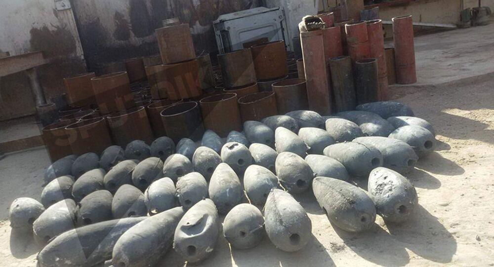 مصنع أسلحة لـداعش في الأنبار