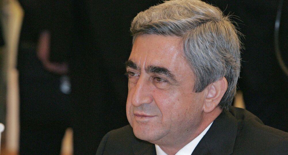 الرئيس الأرمني سيرج سركسيان