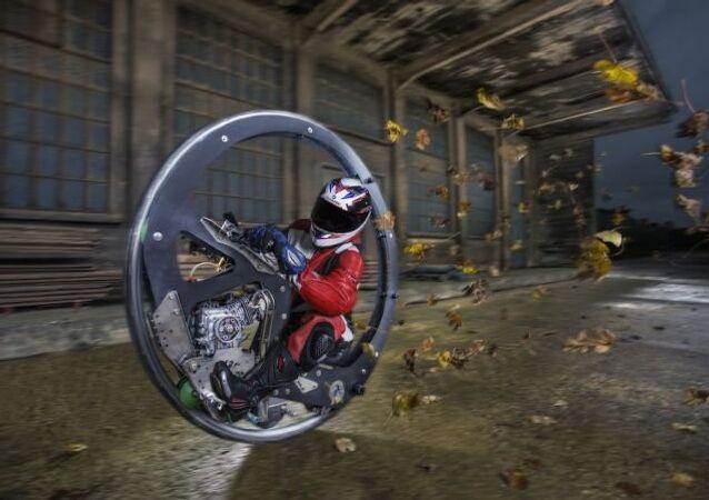 اسرع عجلة محلية الصنع غينيس القياسي العالمي 2017