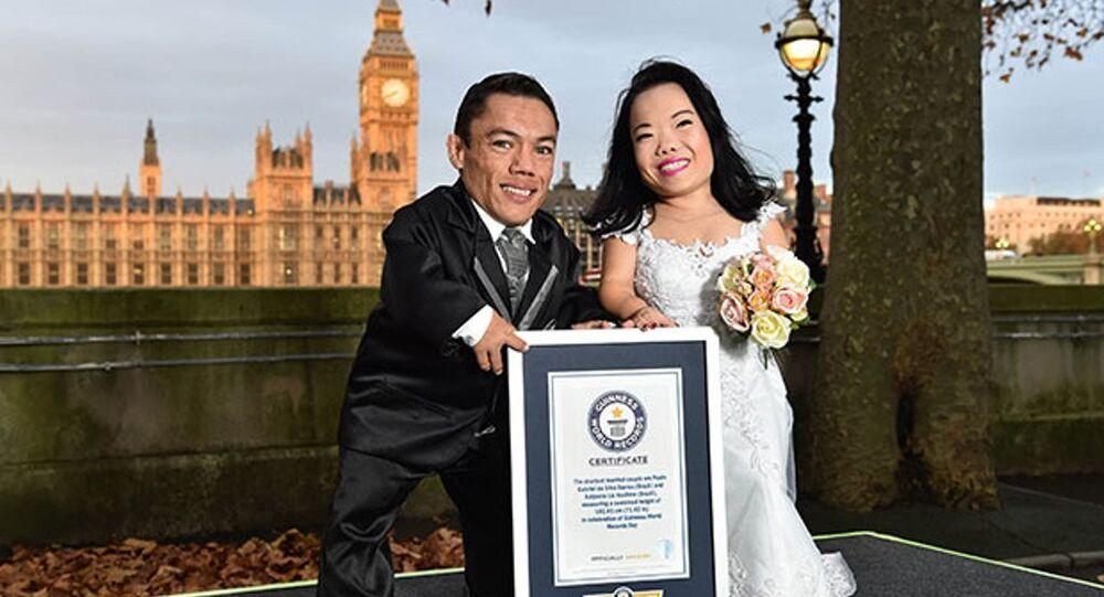 اقصر عروسان في العالم