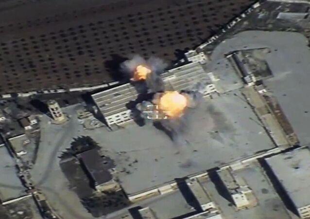 عمليات ضرب مواقع تسليح غير قانونية على أراضي سوريا