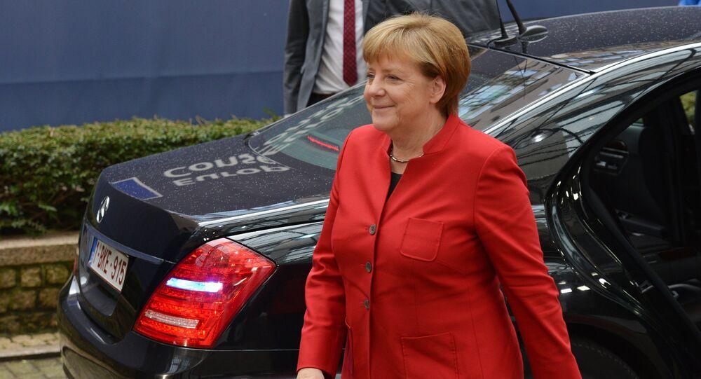المستشارة الألمانية انغيلا ميركل