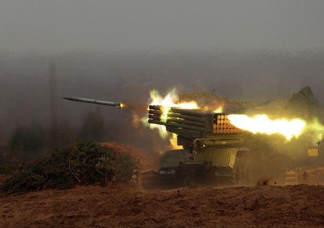 منظومة الصواريخ الحارقة غراد