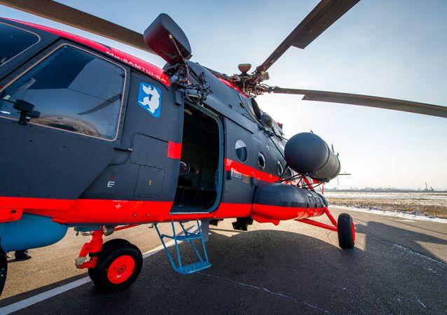النسخة الجديدة للمروحية الروسية المسماة بـمي-8أ إم تي شي-في أ للعمل في طقس بارد خاصة الطقس القطبي