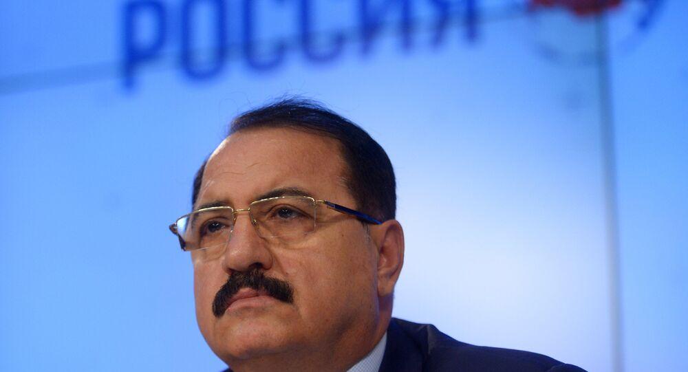 المؤتمر الصحفي للسفير السوري في موسكو