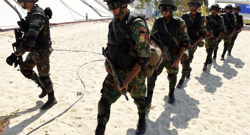 الجنود المصريون