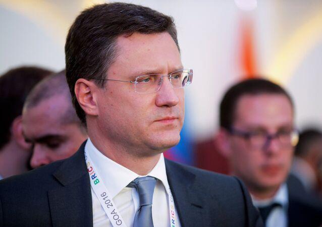 ألكسندر نوفاك وزير الطاقة الروسي
