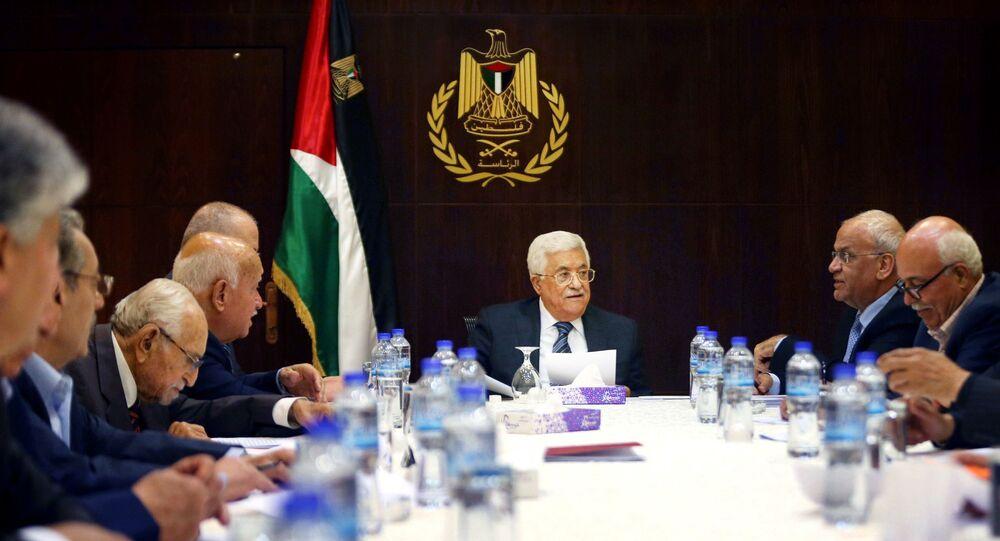 رئيس السلطة الفلسطينية محمود عباس