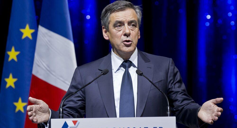 المرشح للانتخابات الرئاسية الفرنسية فرانسوا جوبيه