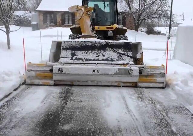 إزالة الثلوج في كندا