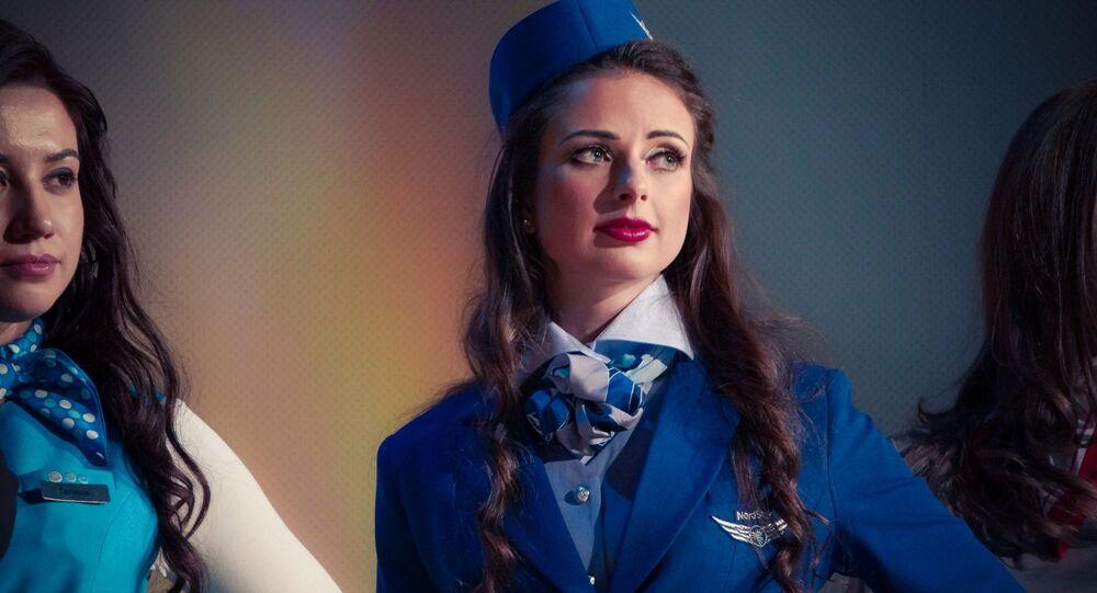 مسابقة أجمل مضيفة طيران في روسيا - الحائزة على اللقب آنا غورينا