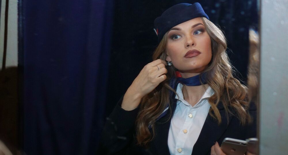 مسابقة أجمل مضيفة طيران في روسيا - مشاركة في المسابقة