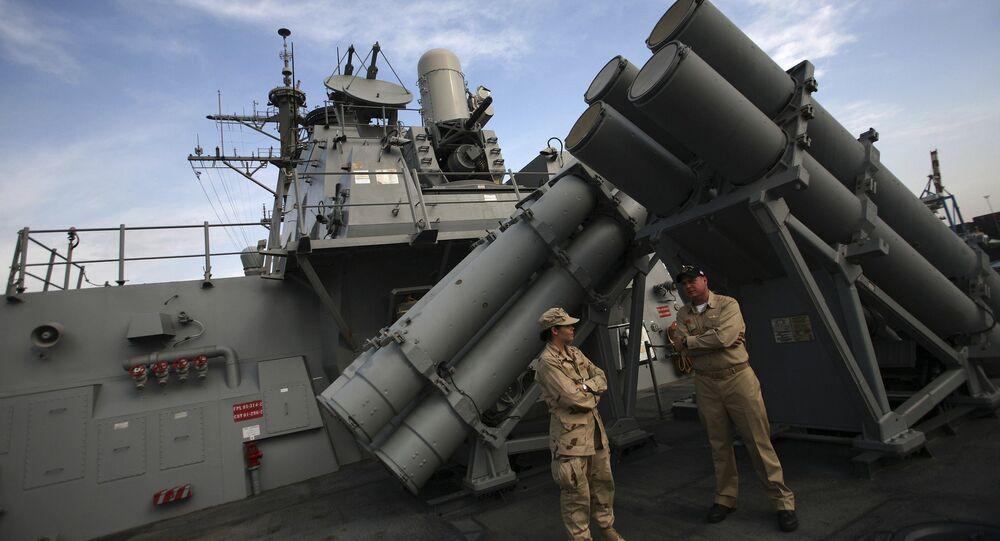 الدرع الصاروخي الأمريكي
